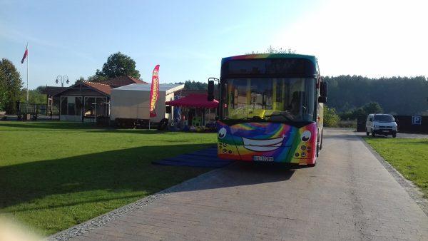 animekbus Sala zabaw w autobusie